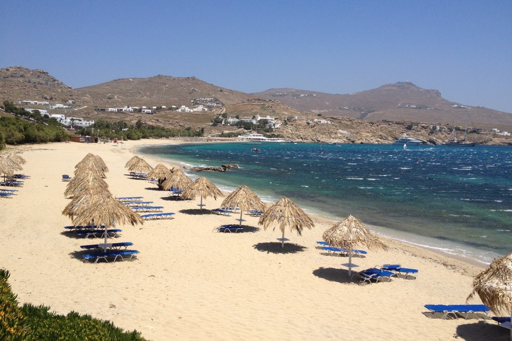 Kalafatis Beach Mykonos 1000straende1000straende